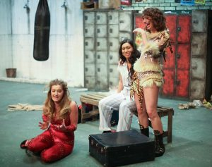 Alexandra Daywan (Tiger), Sasha McNally (Nettie) and Verity Hicks (Dani)